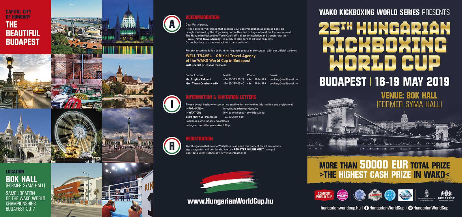 Official brochure – Hungarian Kickboxing Worldcup